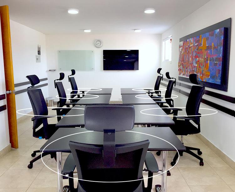 sala de juntas económicas